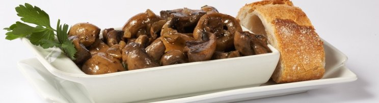 ajillo mushrooms via easy spanish tapas