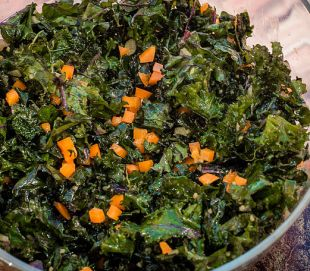 all hail the kale salad via by tracy mcquirter