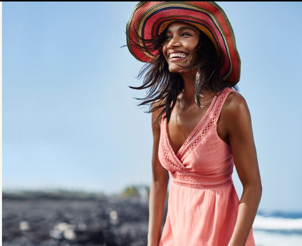 gloria gauze sundress via tommy bahama