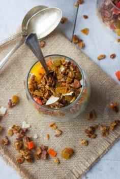 homemade granola via brown sugar