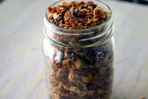 pecan pie granola via southern souffle