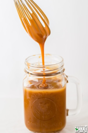salted caramel sauce via cook with manali