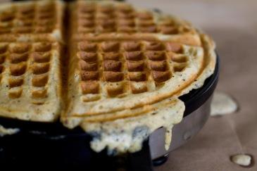 multigrain waffle via 101 cookbooks