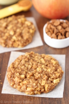 apple pie oatmeal via amys healthy baking