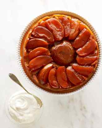 apple tarte tatin via martha stewart