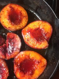 brown sugar baked peaches and nectarines via jem of the south