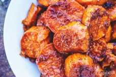 cinnamon marsala glazed yams via kitchenista diaries