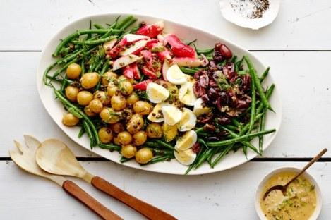 green bean nicoise salad via epicurious