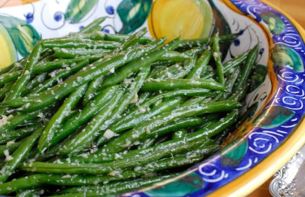 string beans with garlic and ginger via nytimes cooking