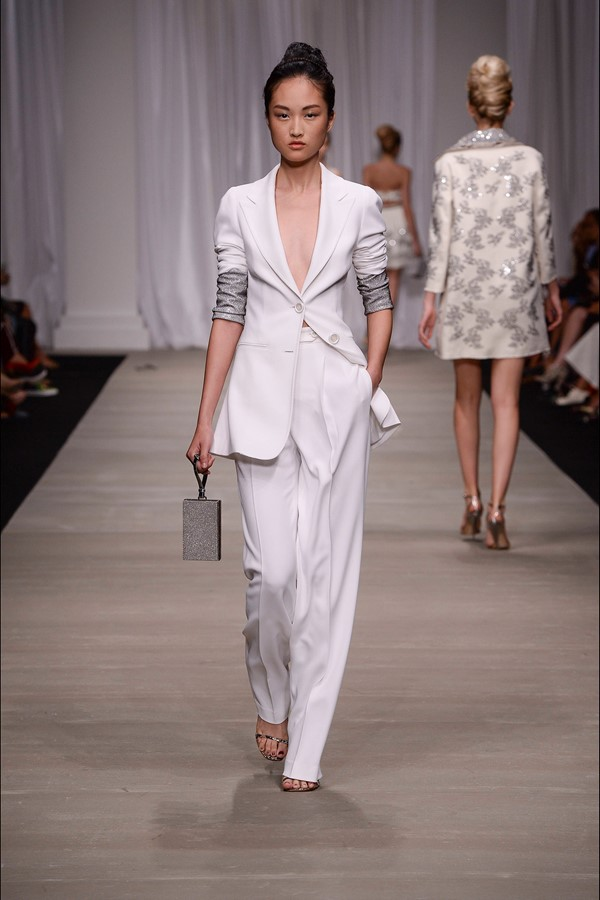 white pant suit ermanno scervino via cinefog