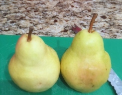 fresh-pears via the sugarapple