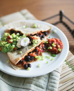 quick-vegan-gf-black-bean-quesadilla-via-pure-ella