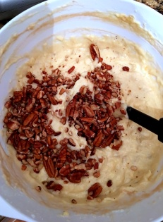 banana pecan bundt mix