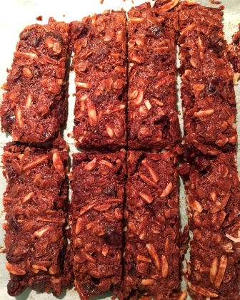 chocolate-hazelnut-granola-bars