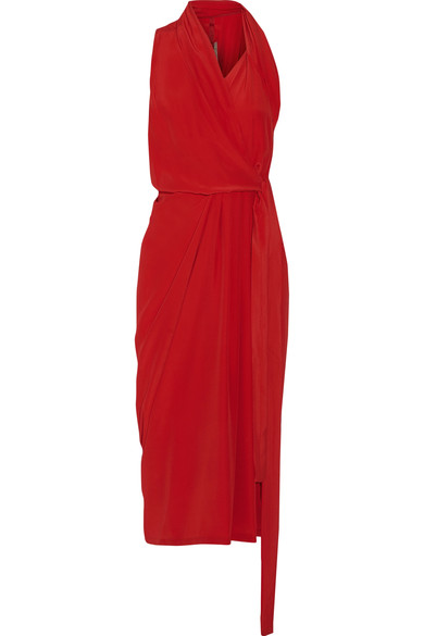 rick-owens-crepe-de-chine-wrap-midi-dress-in-red-via-net-a-porter