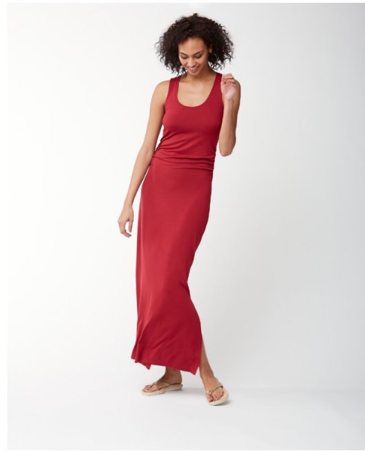 tommy-bahama-red-maxi dress