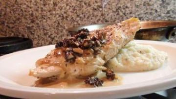 chicken breasts morel mushroom sauce via no recipe required