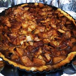 apple tart - final cooked