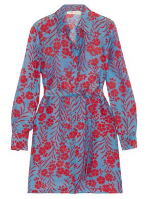 diane von furstenberg silk blend dress via net-a-porter