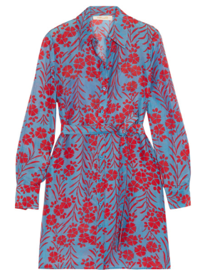 diane von furstenberg silk blend dress via net-a-porter