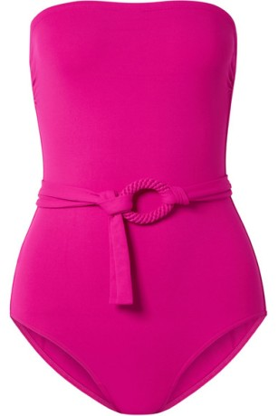 eres fuschia swimswuit via net-a-porter