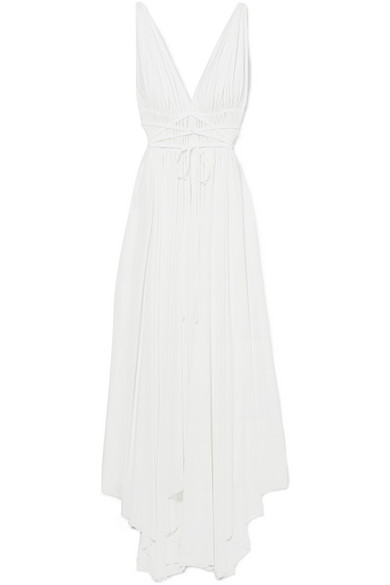 norma kamali maxi dress via net-a-porter
